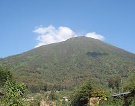 mt Bisoke Crater Hike
