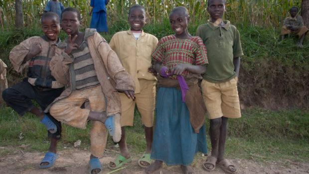 community children of Rwanda