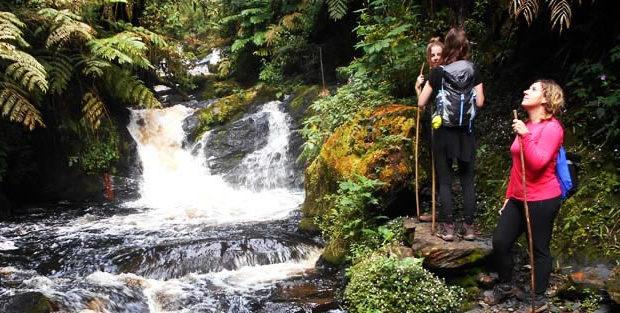 Waterfalls Hiking in Rwanda