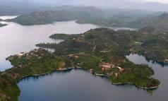 Rwanda Twin lakes