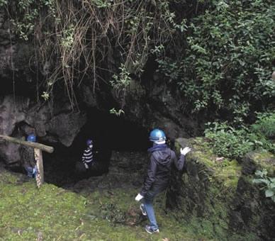 Caving in Rwanda