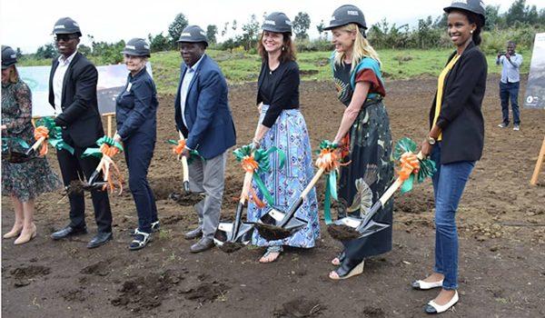 Construction Of Ellen DeGeneres Campus in Rwanda