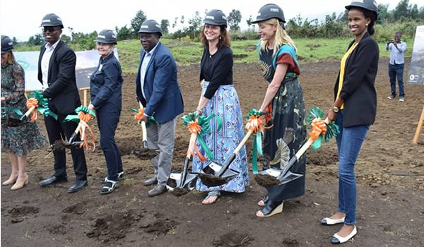 The Construction Of Ellen DeGeneres Campus Commences In Kinigi Rwanda