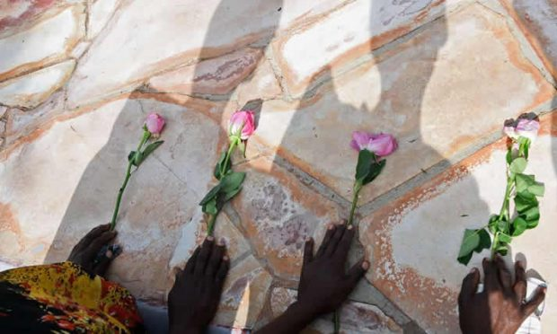 over 4000 genocide victims reburied