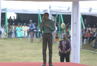 Speakers at Kwita Izina