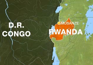 Rwanda Congo border